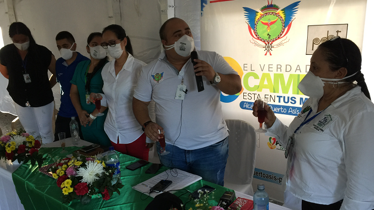 Alcaldía Municipal entregó dotación de equipos biomédicos al Hospital Local de Puerto Asís